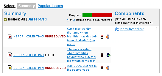 List of issues to be fixed for RHN v1.2